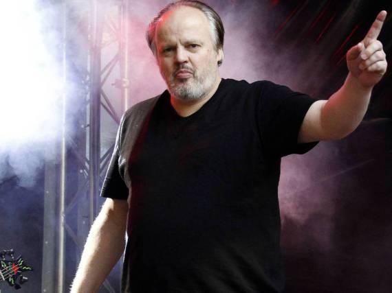 Hubert Kah bei einem Auftritt in Niedersachsen