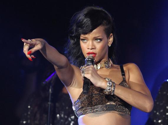 Rihanna hinterließ in Köln ihre Konzert-Gitarre