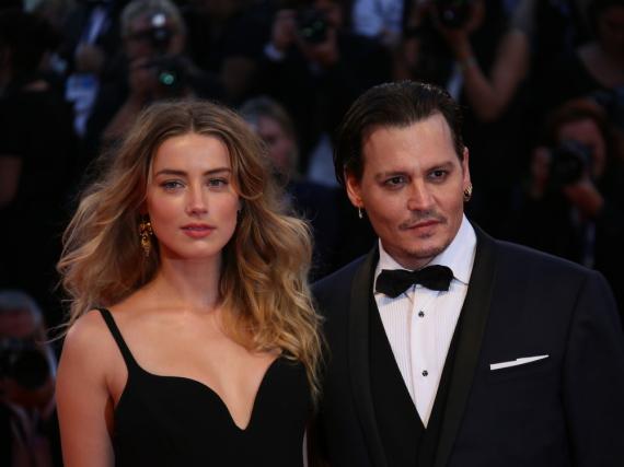 Ein Bild aus glücklicheren Tagen: Johnny Depp und seine Frau Amber Heard
