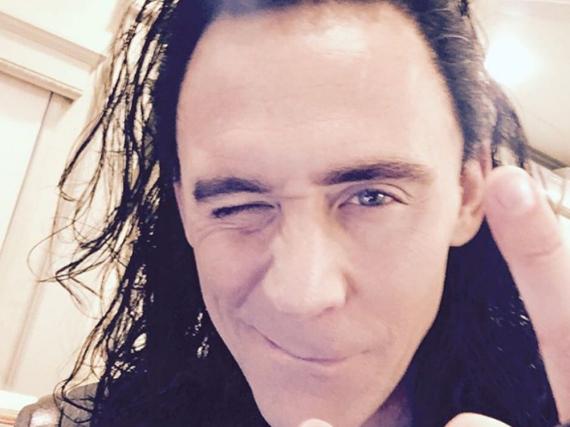 Das ist erste Bild, das Tom Hiddleston auf seinem Instagram-Account gepostet hat