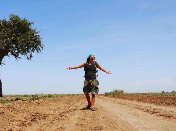 Autor Tomislav Perko auf Reisen