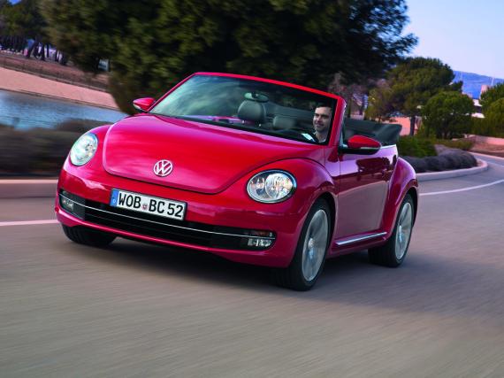 Ein Käfer, der viel Spaß macht: VW Beetle Cabrio