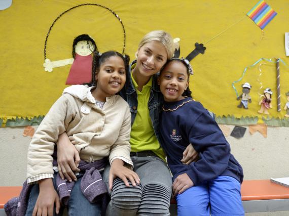 Lena Gercke ist Botschafterin der Kindernothilfe