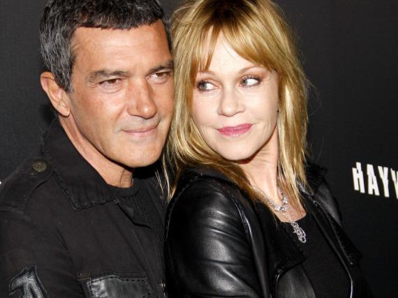 Antonio Banderas und Melanie Griffith bei einem gemeinsamen Auftritt in Los Angeles im Jahr 2012