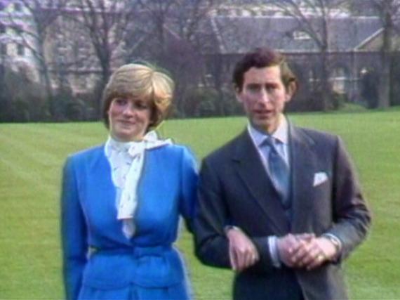 Lady Diana und Prinz Charles im Jahr 1981