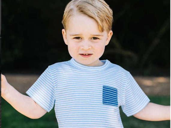 Anlässlich des dritten Geburtstags von Prinz George veröffentlichte der Kensington Palast dieses Foto.