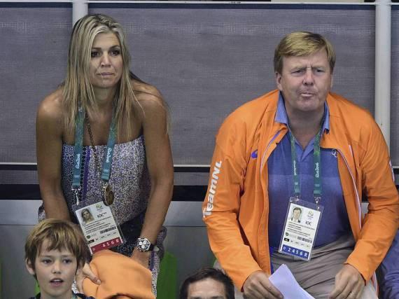Für eine Medaille reichte es trotz der royalen Unterstützung von Máxima und Willem-Alexander nicht.