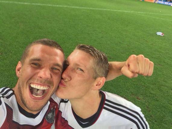 Poldi und Schweini: Beide werden nun nicht mehr für die DFB-Elf auflaufen