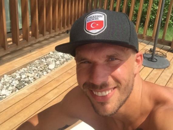 Poldi ist nicht nur für sein Fußballkönnen, sondern auch für seine Sprüche bekannt