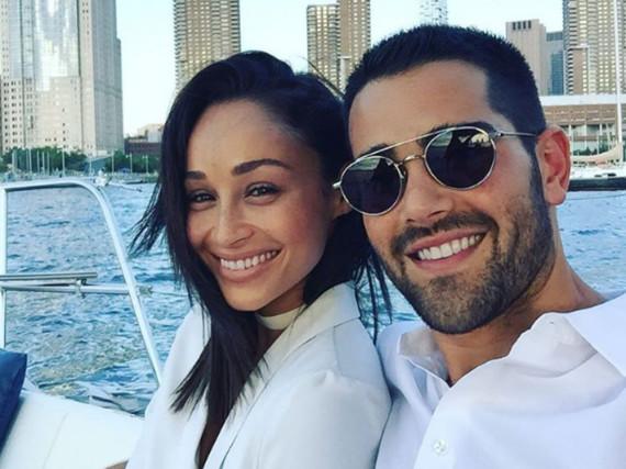 Jesse Metcalfe und seine Freundin Cara auf dem Hudson River