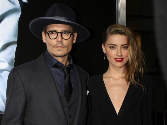 Ein Bild aus friedlicheren Zeiten: Johnny Depp mit Amber Heard