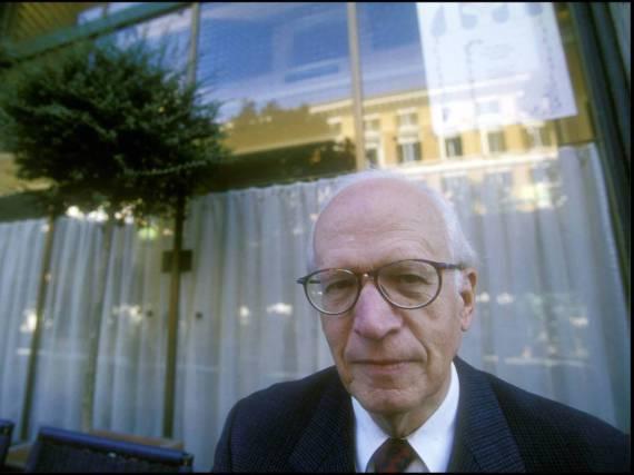 Ernst Nolte kurz nach seiner Emeritierung als Professer Mitte der 90er-Jahre