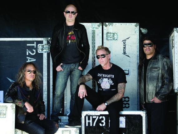 Metallica haben sich für ihr Album acht Jahre Zeit gelassen