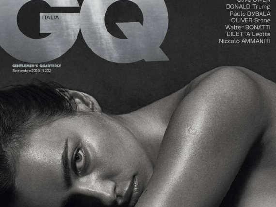Irina Shayk zeigt sich sexy auf dem Cover der neuen