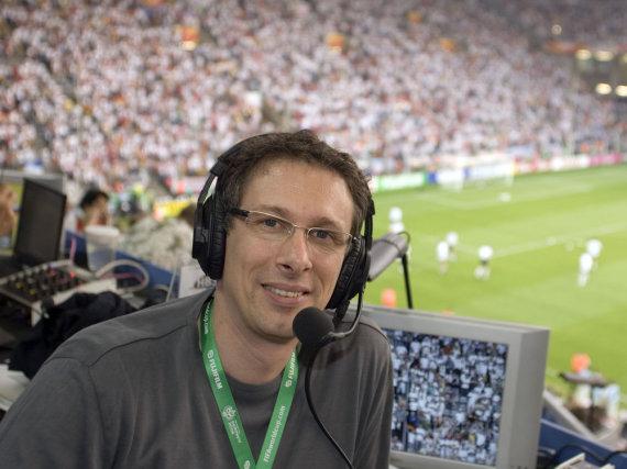 ARD-Kommentator Steffen Simon sorgt mit seinen Live-Berichten für Diskussion
