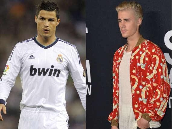 Cristiano Ronaldo und Justin Bieber könnten bald zusammen vor der Kamera stehen.