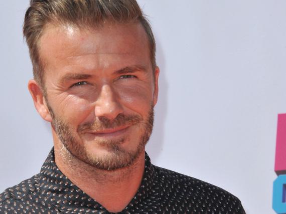 David Beckham hat bereits sehr viele Tattoos.