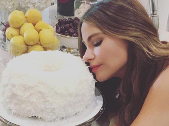 Großer Kuchen-Fan: Schauspielerin Sofia Vergara