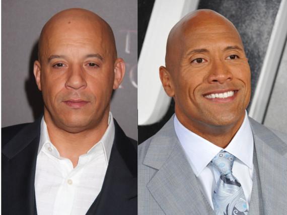Haben Vin Diesel (links) und Dwayne