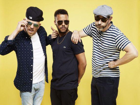 Eizi Eiz alias Jan Delay, Denyo und DJ Mad erobern derzeit die Charts