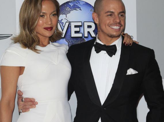Jennifer Lopez und Casper Smart bei einem gemeinsamen Auftritt im Januar
