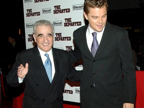 Leonardo DiCaprio und Martin Scorsese bei der New-York-Premiere von