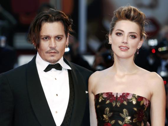 Die Ehe von Johnny Depp und Amber Heard hielt nur wenige Monate