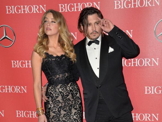 Im Januar waren Amber Heard und Johnny Depp noch zusammen auf den roten Teppichen unterwegs