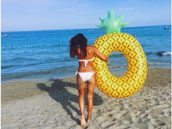 Janina Uhse wünscht sich nach Ibiza zurück