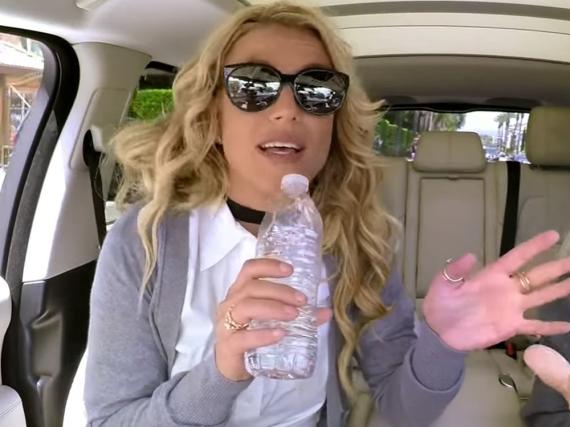 Britney Spears nahm beim legendären