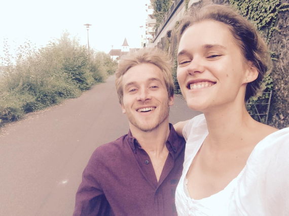 Samuel Koch und Sarah Elena Timpe sind nun Mann und Frau