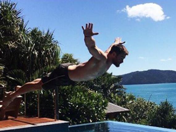 Chris Hemsworth gönnt sich eine Auszeit