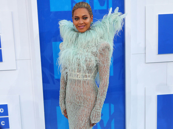 Beyoncé auf dem roten Teppich der MTV Video Music Awards in New York