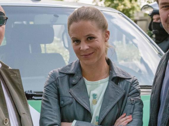 Schauspielerin Bernadette Heerwagen mag die Wiesn nicht