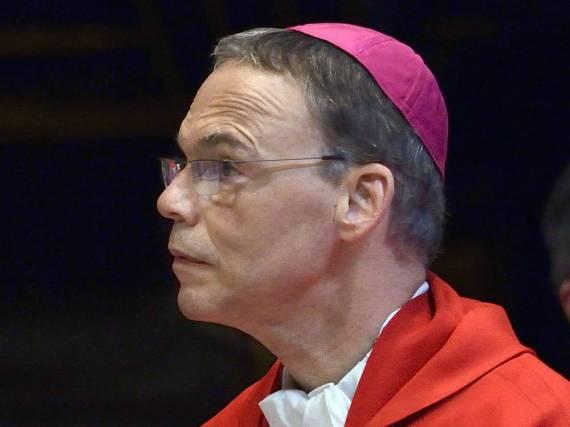 Franz-Peter Tebartz-van Elst, damals noch im Amt des Bischofs
