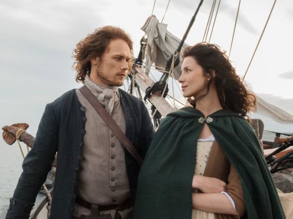 Jamie und Claire auf dem Weg nach Frankreich