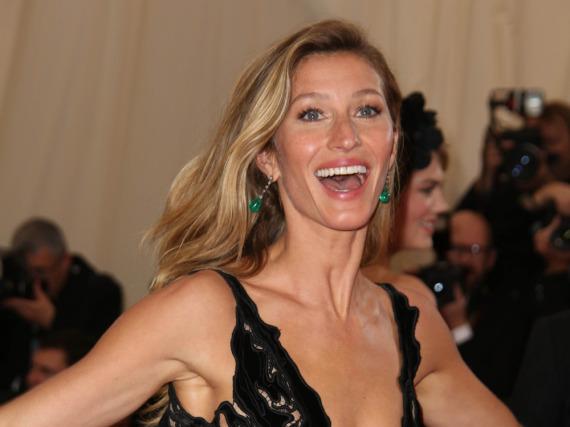 Die helle Model-Freude: Gisele Bündchen verdient ein Vielfaches ihrer Topmodel-Kolleginnen