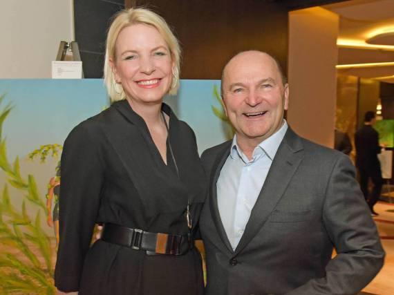 Können sich freuen: Sepp Krätz und Ehefrau Tina