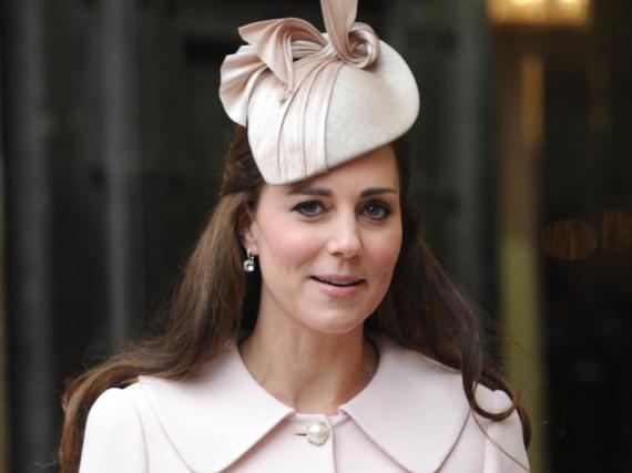 Gewagter Hut, gefragte Nase: Herzogin Kate ist ein Beauty-Vorbild für die Britinnen