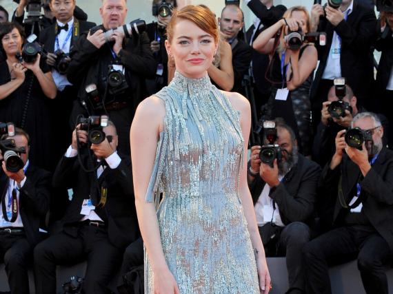 Emma Stone bei den internationalen Filmfestspielen von Venedig