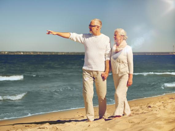 In Zukunft werden immer mehr ältere Menschen Urlaub machen