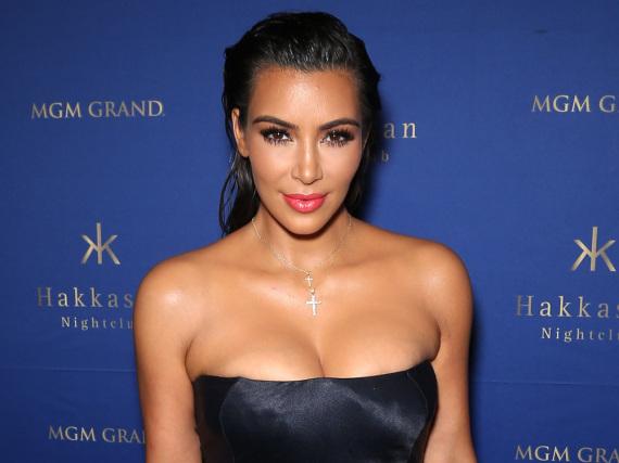 Kim Kardashian leidet an Schuppenflechte