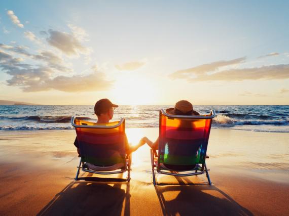 Ein Drittel aller Menschen würden den Lottogewinn in eine Traumreise investieren