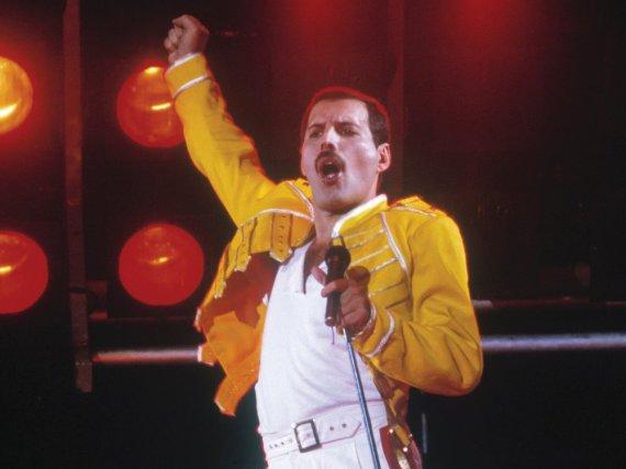 Keiner posierte so ausdrucksstark wie Freddie Mercury