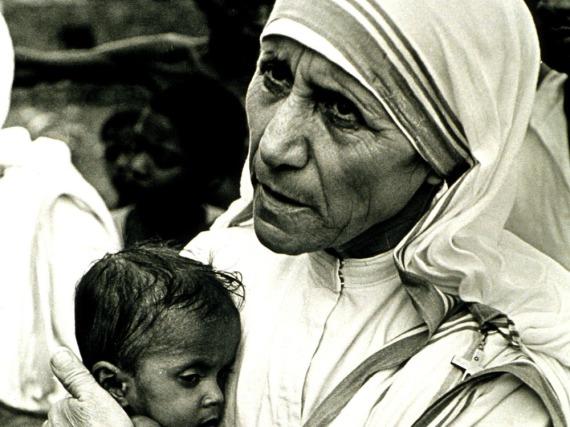 Mutter Teresa widmete ihr Leben den Ärmsten der Armen