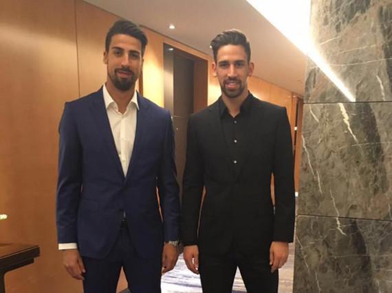 Sport-Profis und Hobby-Köche: Sami Khedira (l.) und sein Bruder Rani