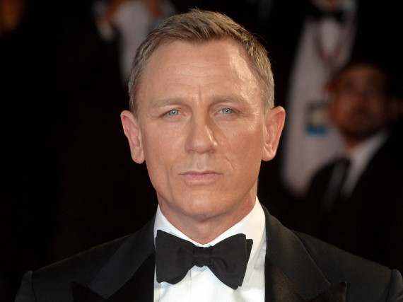 Daniel Craig ist auch auf dem roten Teppich so cool wie James Bond