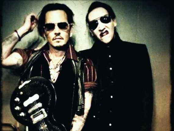 Johnny Depp und Marilyn Manson machen gemeinsam Musik