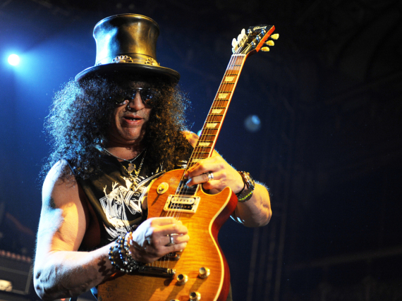 Verzückt Slash die Guns-N'-Roses-Fans bald auf einem neuen Album mit seinen Gitarren-Soli?