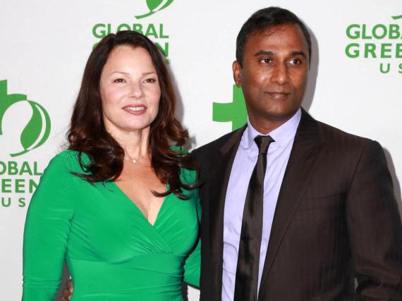 Zwei, die wohl nicht mehr zusammen auf dem roten Teppich auftauchen werden: Fran Drescher und ihr Ex-Partner Shiva Ayyadurai